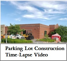 Parking lot Construction Time-Lapse Video on YouTube