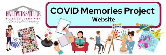 COVID Memories website Slider